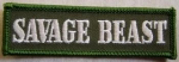 Savage Beast Patch