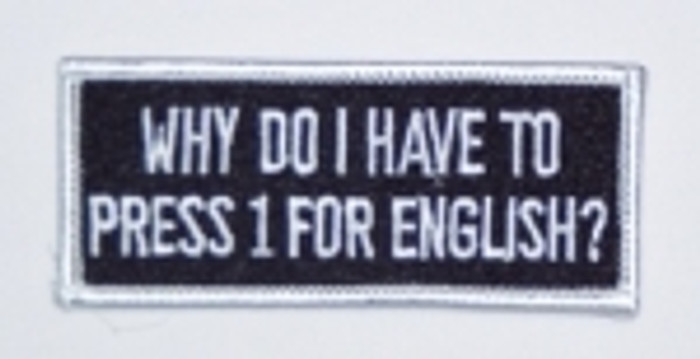 Press 1 For English Patch