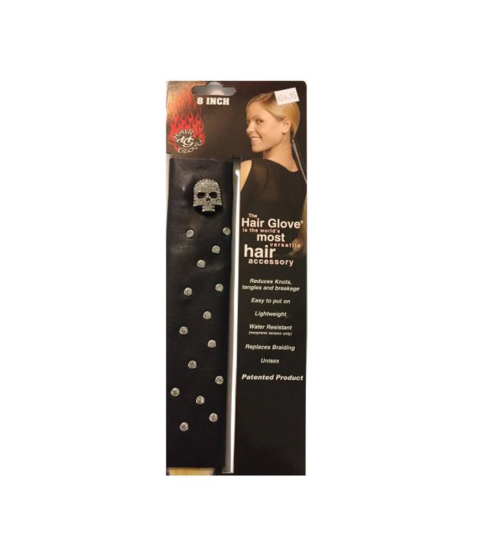 """31808 8"""" HG Rhinestone Skull"""