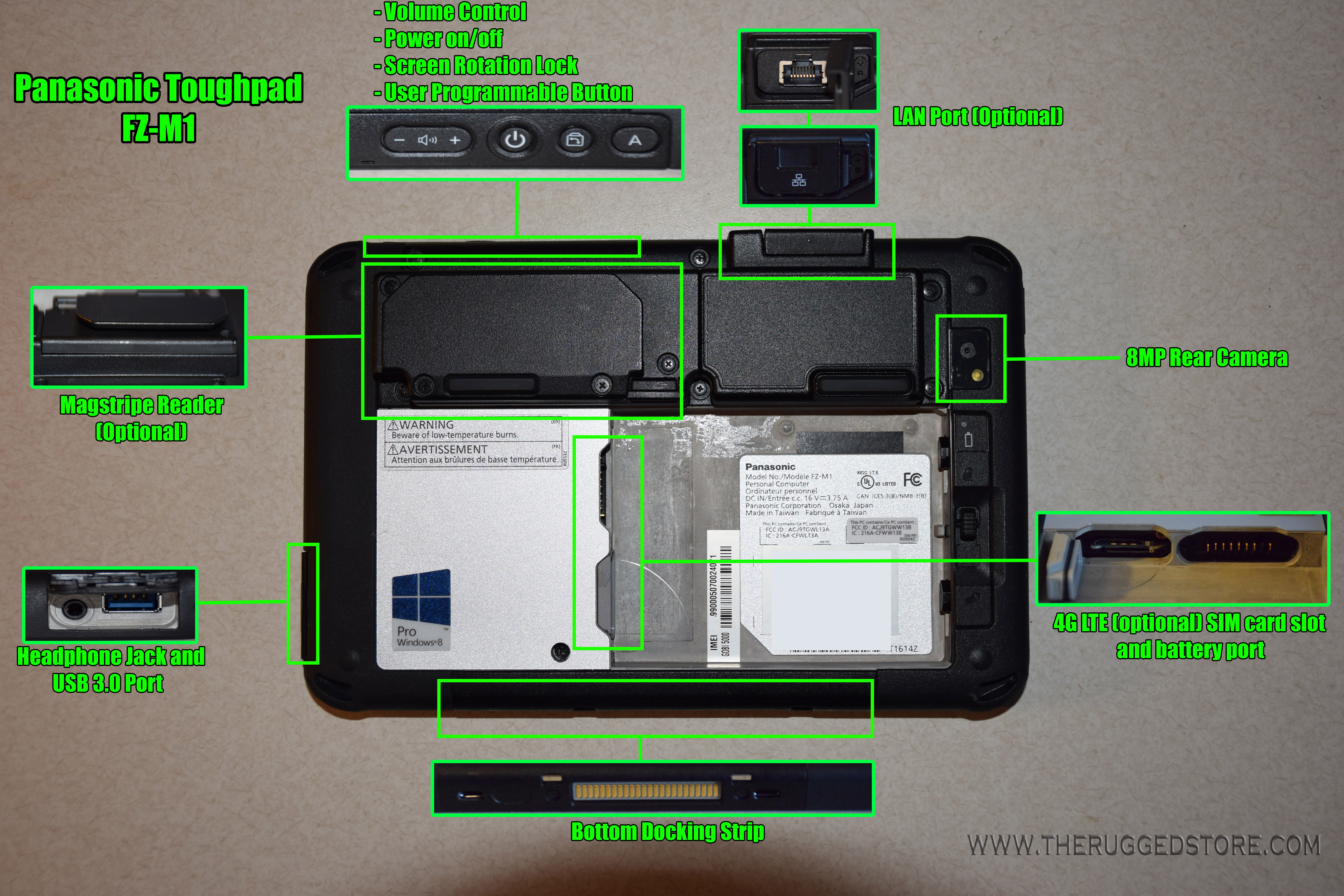 The FZ M1 Toughpad The Rugged Store
