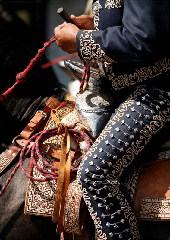 traje-charro-compuesto | All about Mariachi and Mexico | Pinterest