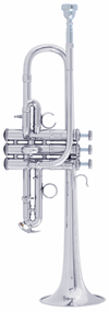 Bach Stradivarius ADE190S Artisan Series Eb/D Silver Trumpet