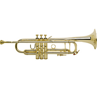 Bach 180-43 Stradivarius Series Bb Trumpet  18043 Lacquer, Yellow Brass Bell