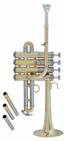 Bach Stradivarius AP190 Artisan Series Bb/A Piccolo Lacquer Trumpet