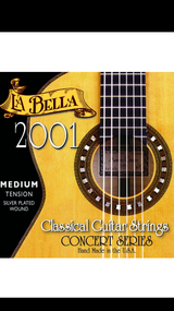 La Bella 2001 Medium Classical Guitar Strings
