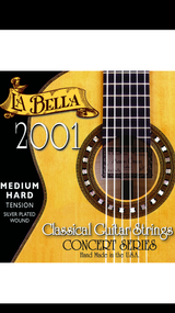 La Bella 2001 Medium Hard Classical Guitar Strings