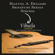 Delgado Vihuela Light Strings, Gold