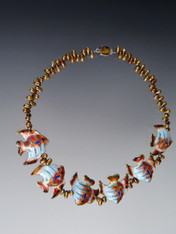 Flying Fish Necklace