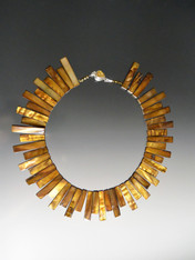Reversible Bronze Mother-of-Pearl Collar
