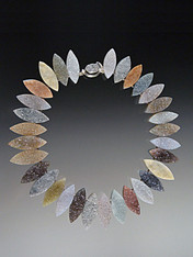 Own this magnificent one of a kind marquis cut Brazilian druzy necklace - a collector's dream of ethically sourced druzy from the finest mine in Brazil .