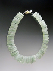 Brazilian Rare Prasiolite Collar ONE OF A KIND