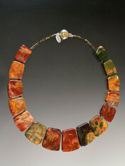 Jasper Collars - Choose from 10 Colorful Combos