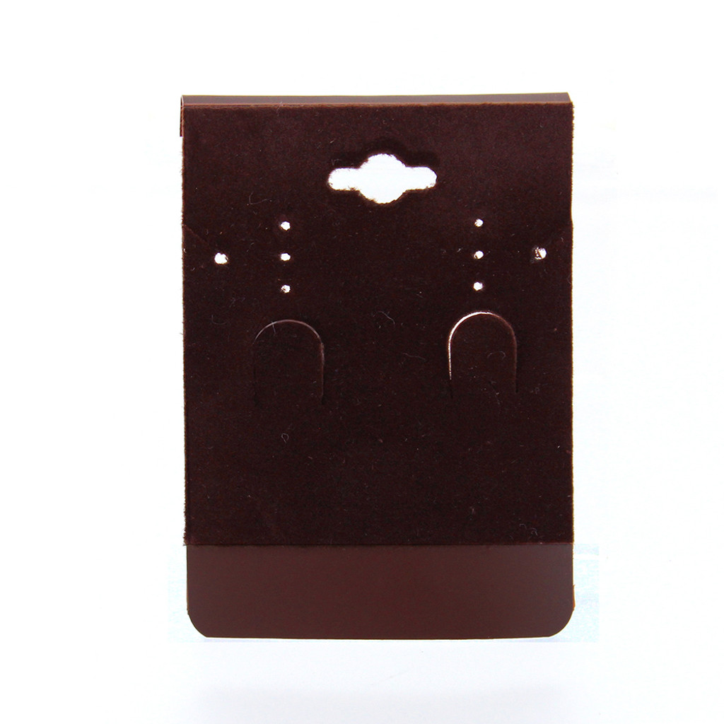 """Hanging Combination Card - Wine Brown, 2 3/8"""" X 3 3/8"""" ,Price for 100 pcs"""