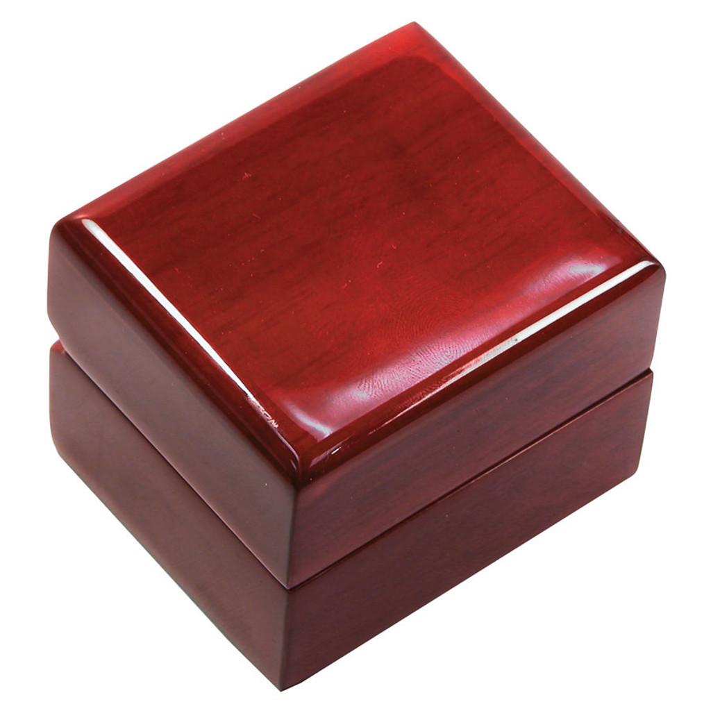 "WR3 Rosewood Ring Box, 2 1/4"" x 2"" x 1 3/4"""
