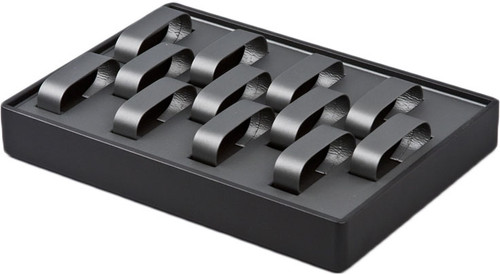 "Stackable Watch Tray, 12 1/2"" W x 8 3/4"" D x 1 7/8"" H"