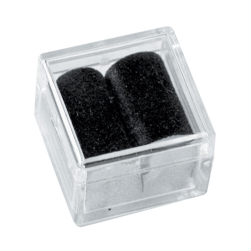 "Acrylic Square Gem Box, 1"" x 1"" x 3/4""H,Choose from various inner color , Price for 100 pieces"
