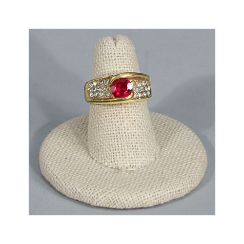 """Linen Ring display, 2""""Dia. x 1 1/4""""H"""", Choose from various Color"""