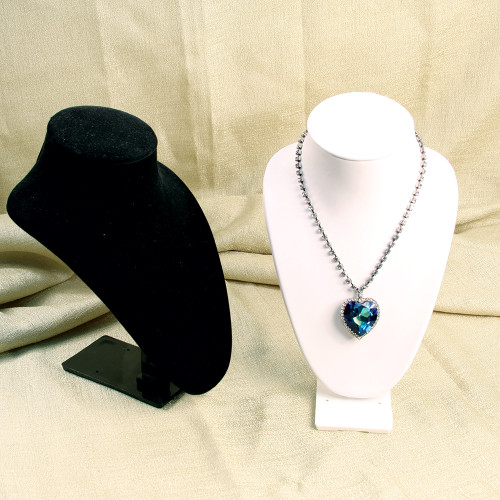 """Necklace Stand, 6 1/4"""" x 4 5/8"""" x 9 1/2""""H, (Choose from various Color)"""