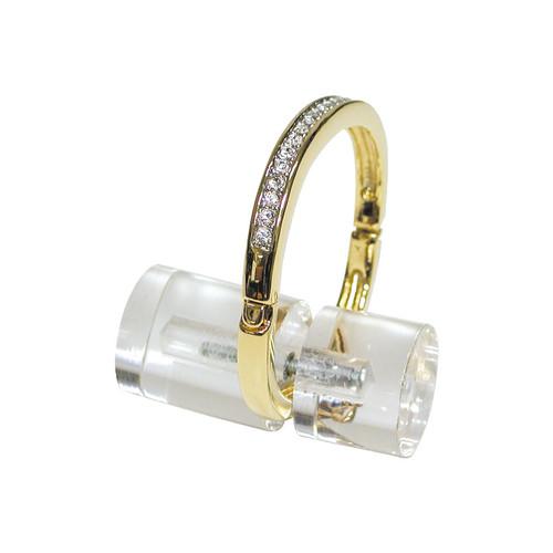 "Acrylic Ring / Bangle Stand, 1"" Dia x 2""L"