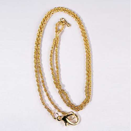 "Loupe Chain, 30""L, Gold-color"