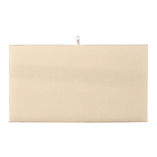 "Full Size  Plain Pad 14 1/8"" x 7 5/8"", Beige-Suede"