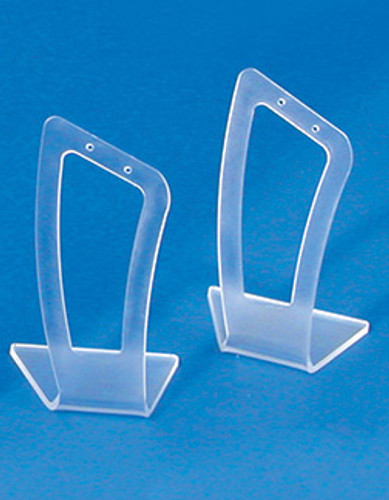 """Frosted Acrylic earring display - 1 1/8"""" x 2 1/2""""H(Price for 1 pieces)"""