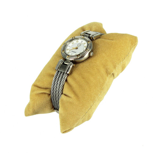 "Pillow 4 1/4"" x 2 1/8"" x 1 1/4""H, color Tan"