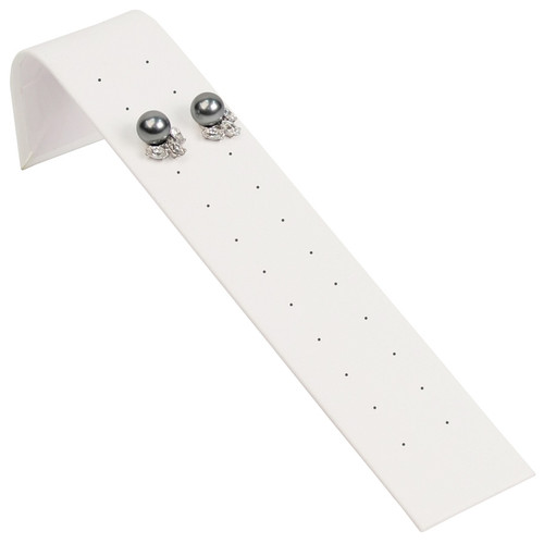 "Stud Earring Ramp Display 1 5/8"" x 8"" x 2"" H"