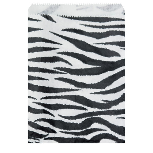 Zebra Paper Bags (Choose from various sizes)