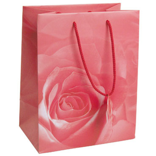 Rose Tote Gift Bag, Price for 20ps (Choose from various sizes)