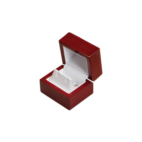 "WE3 Rosewood Earring Box, 2 1/4"" x 2"" x 1 3/4"""