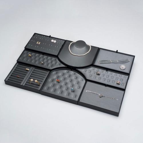 8 Piece Steel Grey Display Set