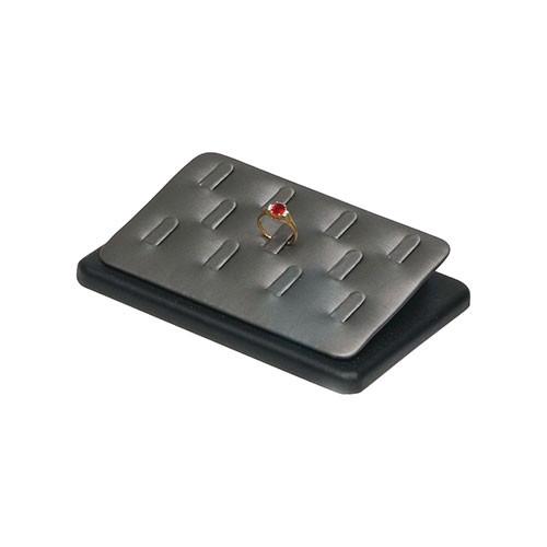 Steel Grey 11-Ring Clip Display