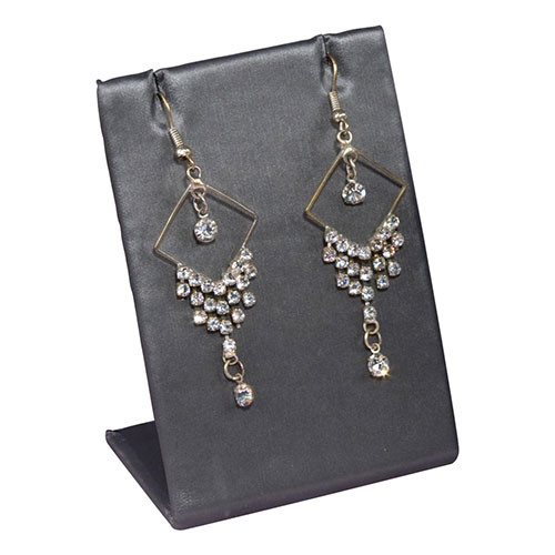 Steel Grey Standing Earring Display