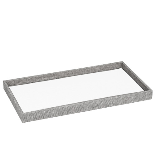 """1"""" inch Full Size Linen Wood Tray,14 3/4"""" x 8 1/4"""" x 1""""H(Choose from various Color)"""