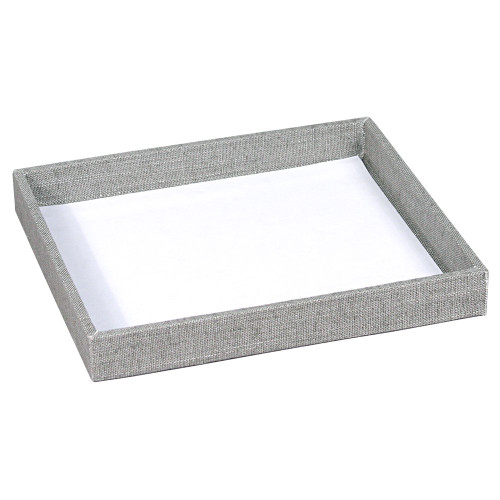 "Half size utility tray , linen,7.25x8.25x1""H, (Choose from various Color)"