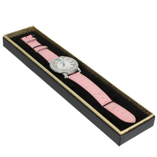 "Bracelet ,Watch Box, 9 7/8"" x 2 1/8"" x 3/4""H"