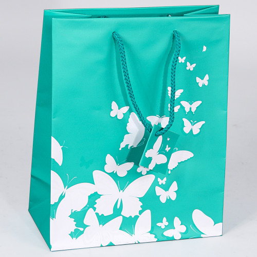Butterfly Tote Gift Bag,(Choose from various sizes),Price for 20 pieces