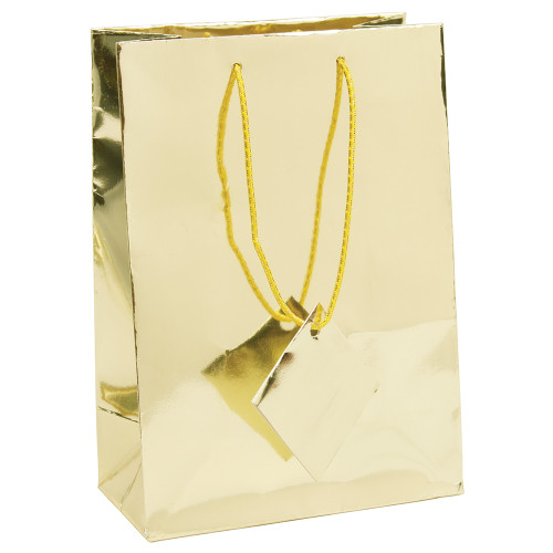Tote Gift Bag , Metallic Gold, (Choose from various sizes),Price for 20 pieces