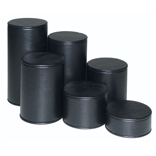 """6-Pieces Cylinder Set, 3"""" Diag., 1 1/4""""~6 1/4""""H, Choose from various Color"""