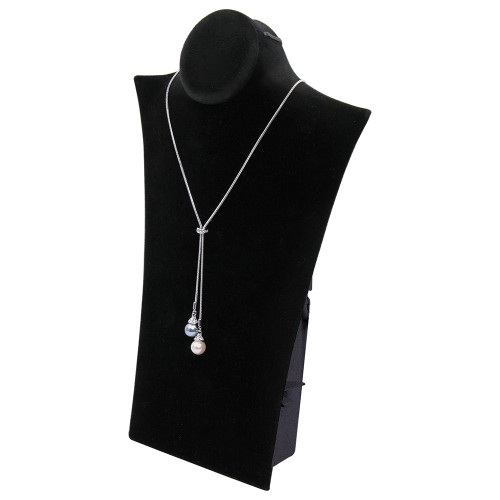 """Necklace Display, 8"""" x 3 1/4"""" x 11 3/4""""H, Choose from various Color"""