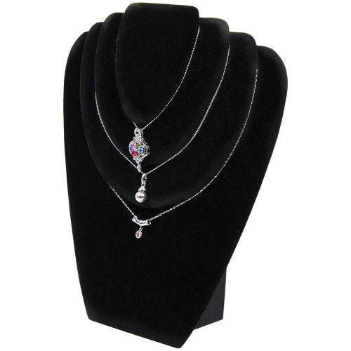 """Necklace Display, 9 1/2"""" x 3 1/4"""" x 11""""H, Choose from various Color"""