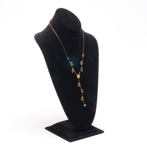 """Necklace Display Bust 8 1/4"""" x 6 3/4"""" x 14 1/2""""H, Choose from various Color"""