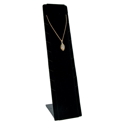 """Necklace Pendant Display,Adjustable, 2 3/4"""" x 3 1/2"""" x 12""""H,(Choose from various Color)"""