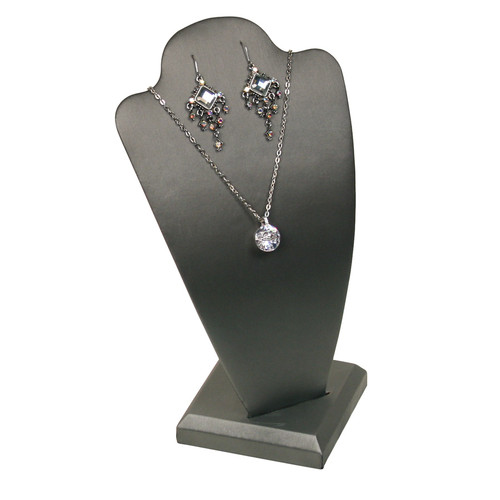 """Necklace Display, 5 1/2"""" x 4 7/8"""" x 10""""H,(Choose from various Color)"""