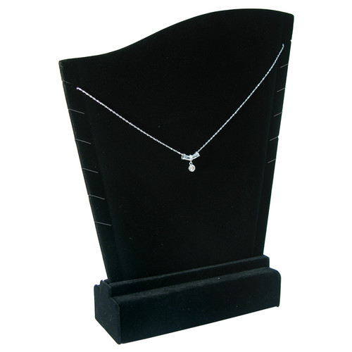 """Necklace Display, 10"""" x 1 1/2"""" x 11 1/2""""H,(Choose from various Color)"""