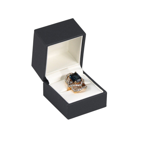 """Elegant Sleeve Ring Box , 1 7/8"""" x 2"""" x 1 7/8""""H ,  Choose from various Color"""