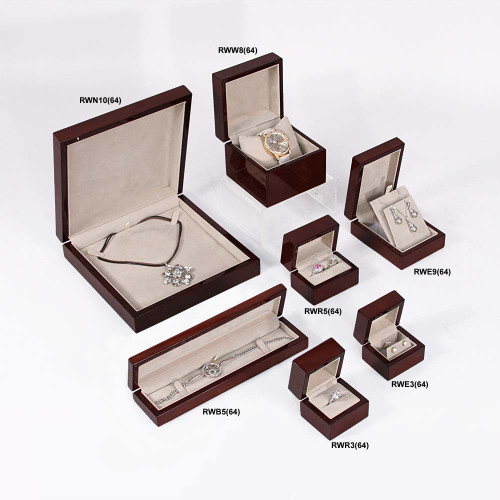Glossy wood box ,  Choose from various Size