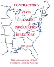 NASCLA CONTRACTOR'S STATE LICENSING INFORMATION DIRECTORY 2018