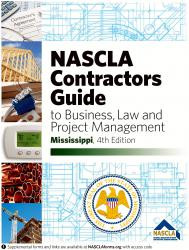 Mississippi State Board of Contractors Edition-Business and Project Management for Contractors 4th EDITION
